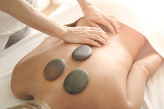 gorący masaż kamień Obrazy Stock