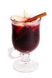 gorący odosobniony rozmyślający wino Fotografia Stock