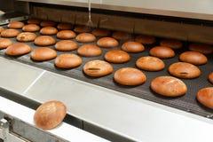 Gorący piec chleb próżnuje z piekarnika Obraz Stock