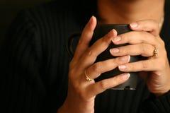 gorący rurociągi drinka Fotografia Stock
