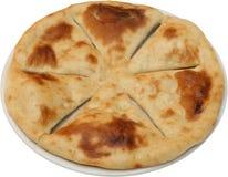 Gorący Smakowity chleba tort dla posiłku odizolowywającego Obraz Royalty Free