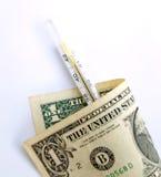 gorączka 3 pieniądze Zdjęcie Stock