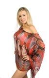 gorąca blondynki dziewczyna Obraz Royalty Free