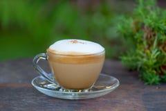 gorąca cappuccino kawa Obrazy Stock