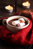 gorąca czekolada Obrazy Royalty Free