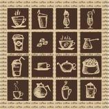 Gorąca kawa royalty ilustracja