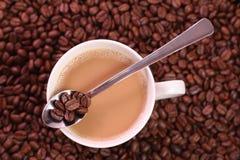 Gorąca kawa Zdjęcia Stock