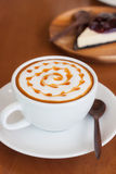 gorąca kawa Obrazy Royalty Free