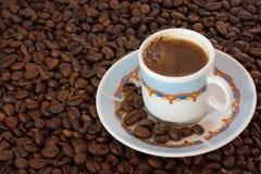gorąca kawa Zdjęcie Stock