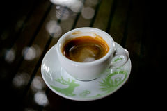 Gorąca kawa i kawa espresso Obraz Stock