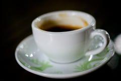 Gorąca kawa i kawa espresso Zdjęcie Royalty Free