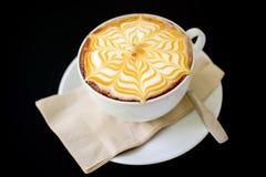 Gorąca kawa i kawa espresso Zdjęcie Stock