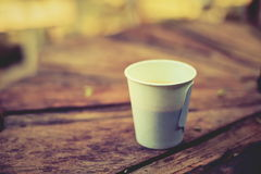 Gorąca kawa i kawa espresso Fotografia Stock