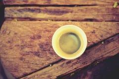 Gorąca kawa i kawa espresso Fotografia Royalty Free