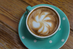 Gorąca kawa w ranku Obrazy Royalty Free