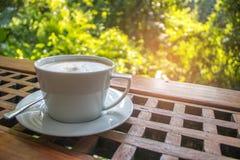 Gorąca latte kawa Zdjęcie Stock