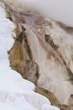 gorąca mamuta np wiosna zima Yellowstone Fotografia Royalty Free