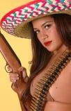 gorąca meksykanin outlaw Zdjęcie Royalty Free