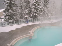 gorące basen wiosny Zdjęcie Stock