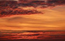 Gorące chmury Obraz Royalty Free