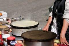 gorące crepe1 Zdjęcie Stock