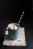 gorące czekoladowych pianki Obraz Royalty Free