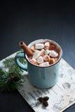 gorące czekoladowych pianki Zdjęcie Royalty Free
