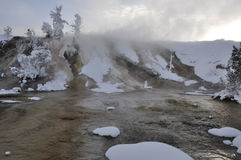 gorące mamutowe wiosna Zdjęcia Stock