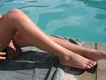 gorące nogi Zdjęcie Royalty Free