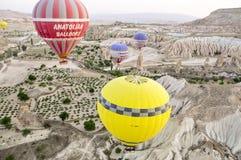 gorące powietrze ballone Fotografia Stock
