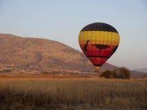 Gorące powietrze balon, Zdjęcie Stock