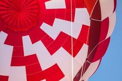 Gor?ce powietrze balon lub aerostat, jaskrawy palenie ogienia p?omie? od benzynowego palnika wyposa?enia zdjęcie stock