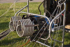Gorące Powietrze Balonowi palniki Zdjęcie Royalty Free