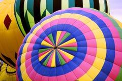 Gorące Powietrze Balonowy tercet Obrazy Royalty Free