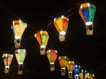 Gorące powietrze balonu festiwal, Lebuh Pantai, Georgetown, Penang fotografia royalty free
