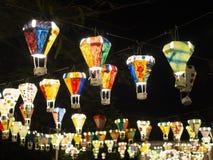 Gorące powietrze balonu festiwal, Lebuh Pantai, Georgetown, Penang zdjęcie royalty free