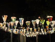 Gorące powietrze balonu festiwal, Lebuh Pantai, Georgetown, Penang obraz stock