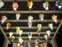Gorące powietrze balonu festiwal, Lebuh Pantai, Georgetown, Penang zdjęcia stock