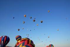 gorące powietrze balony Obraz Royalty Free