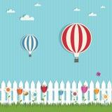gorące powietrze balony Fotografia Stock