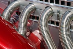 gorące silnika kij Obrazy Royalty Free