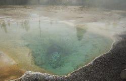 gorące wiosna Yellowstone Zdjęcia Royalty Free