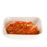 Gorącego chili pasta dla azjatykcich przepisów Fotografia Royalty Free