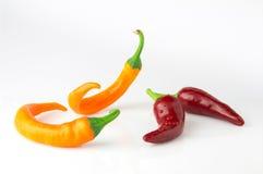 Gorącego chili pieprzu taniec zdjęcie royalty free