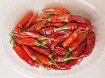 Gorącego chili pieprzu warzywa Zdjęcia Stock