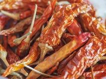 Gorącego chili pieprzu warzywa karmowi Obrazy Royalty Free