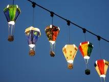 Gorącego Powietrza Ballon latarnia uliczna Fotografia Stock