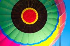 Gorącego Powietrza Balonowy Centre obrazy royalty free