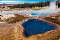 Gorącej wiosny baseny Obrazy Stock