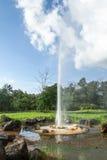 Gorącej wiosny woda mineralna Zdjęcia Royalty Free